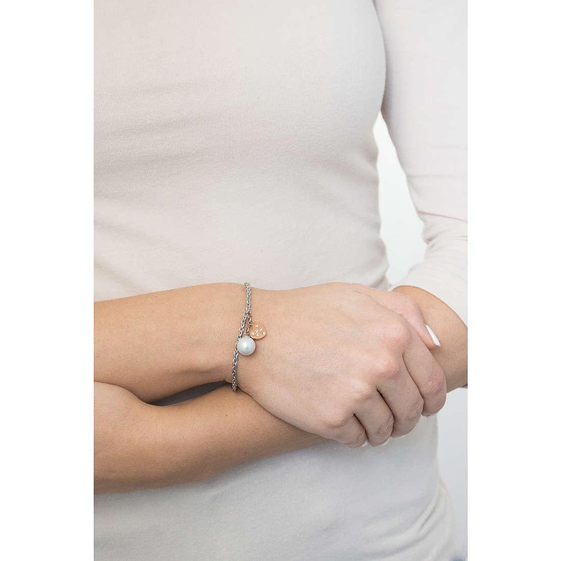 Luca Barra bracciali donna LBBK1197 indosso