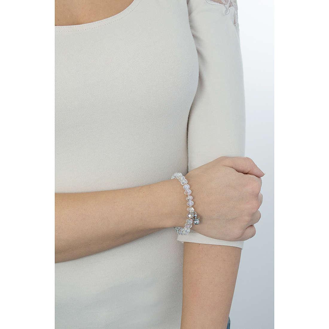 Luca Barra bracciali donna LBBK1245 indosso