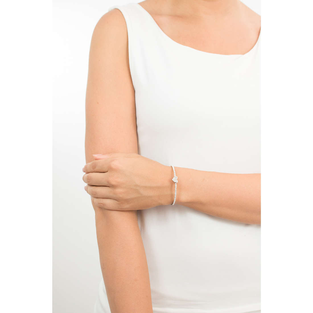 Luca Barra bracciali donna LBBK1315 indosso