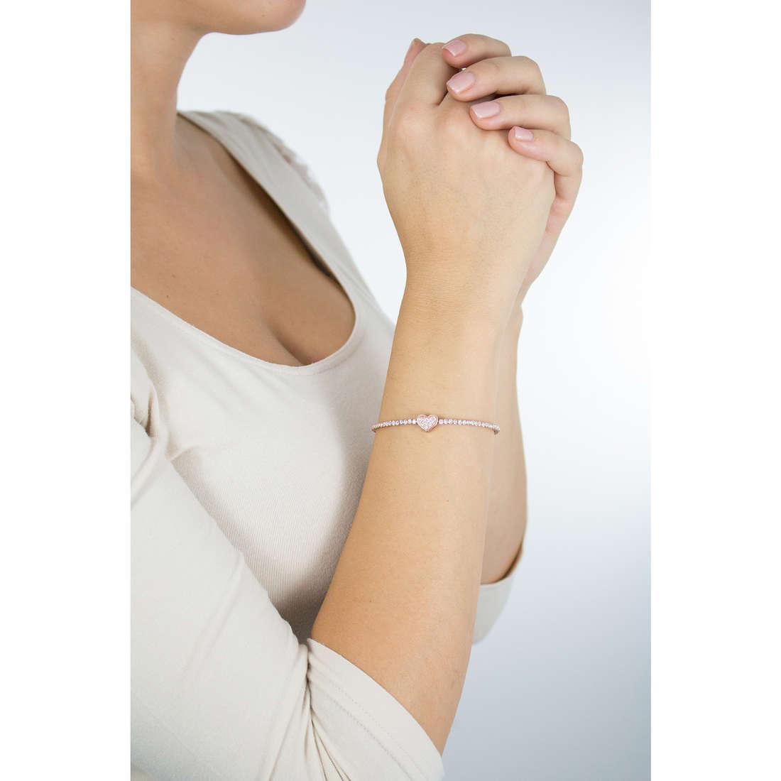 Luca Barra bracciali donna LBBK1316 indosso