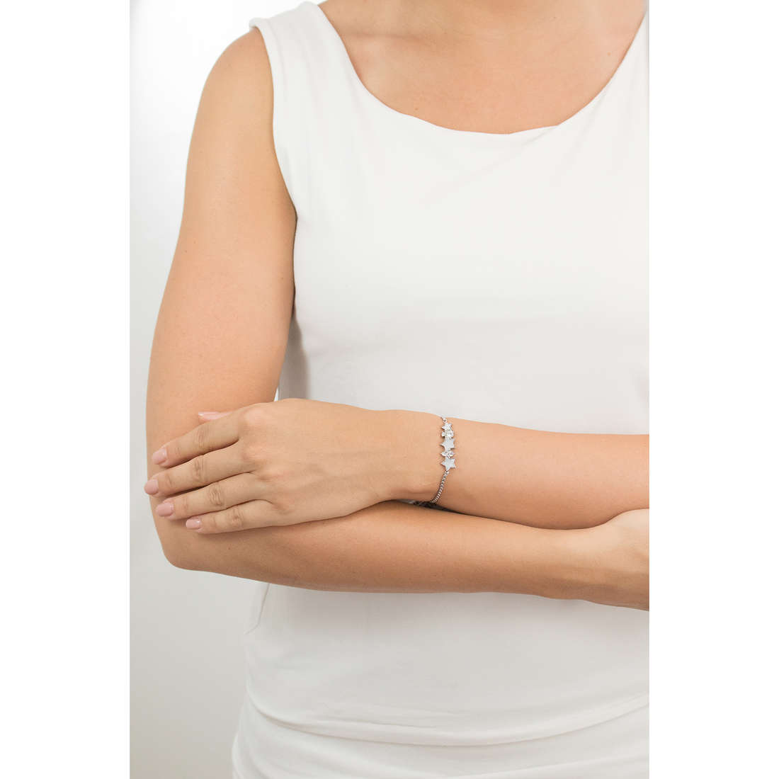 Luca Barra bracciali donna LBBK1355 indosso