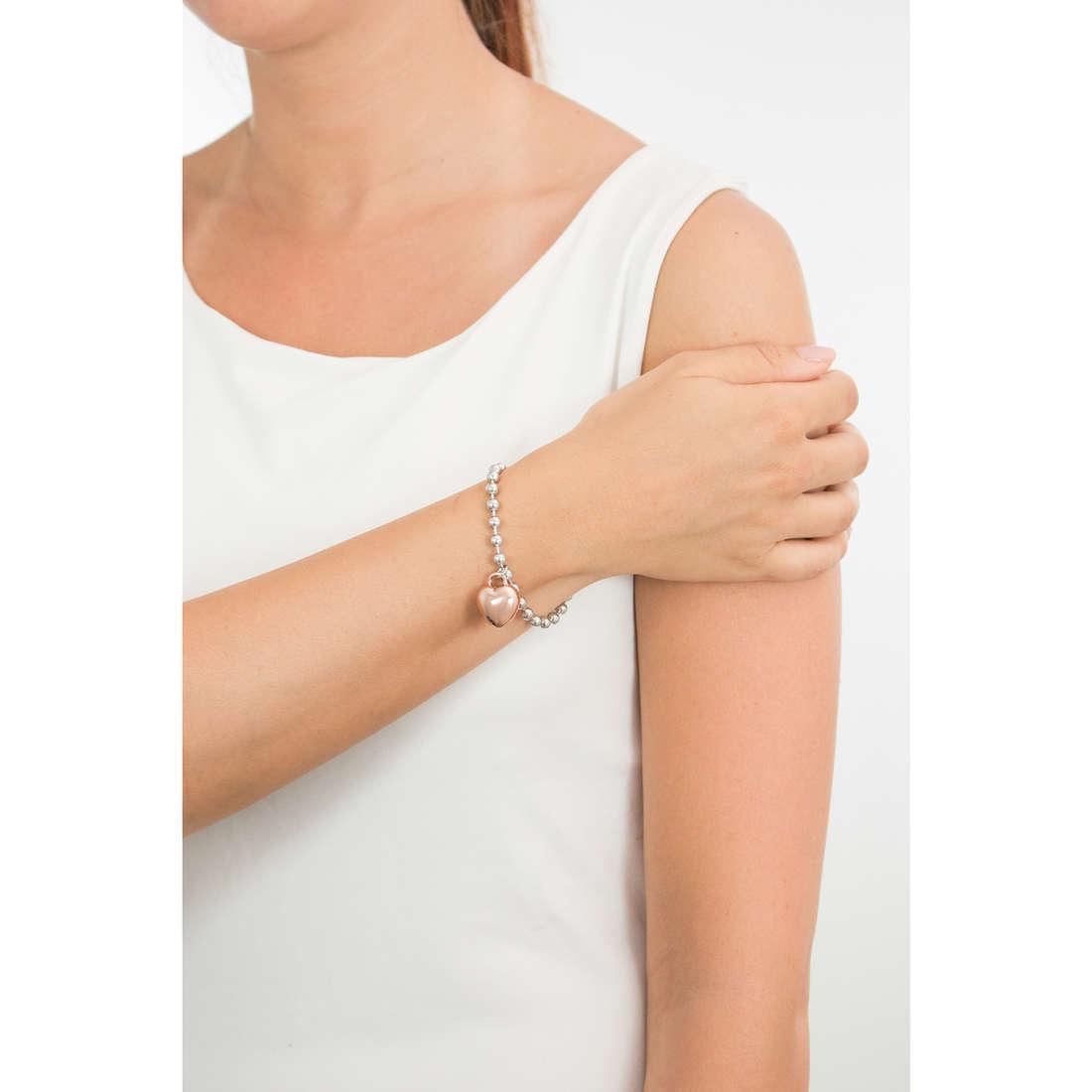 Luca Barra bracciali donna LBBK1379 indosso