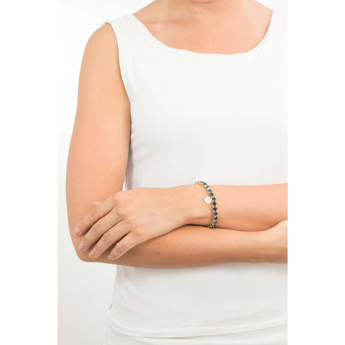 Luca Barra bracciali donna LBBK873 indosso