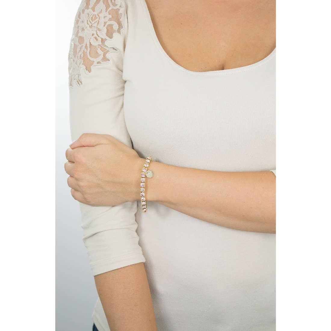 Luca Barra bracciali donna LBBK875 indosso