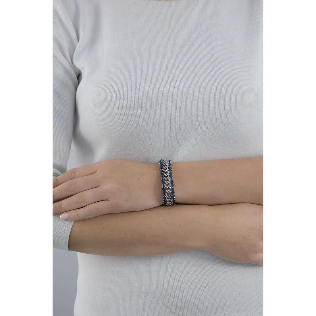 Luca Barra bracciali donna LBBK990 indosso