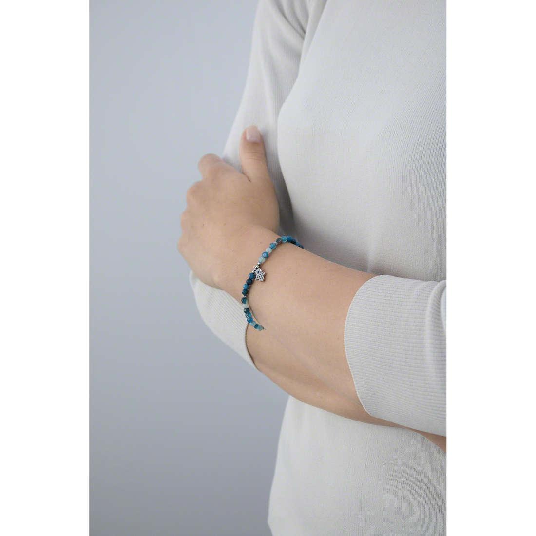 Marlù bracciali Mano Di Fatima donna 14BR102 indosso