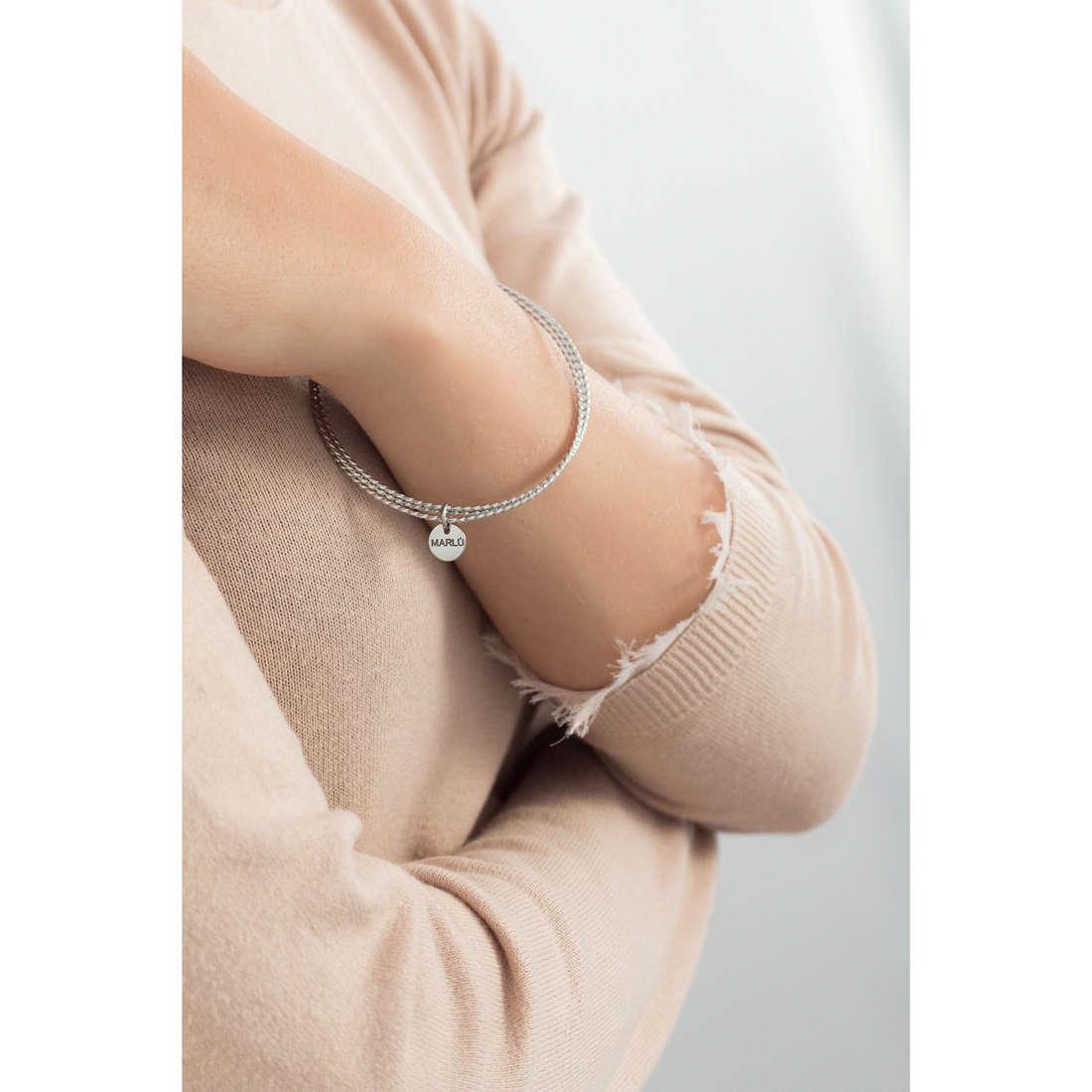 Marlù bracciali Nel mio Cuore donna 15BR013 indosso
