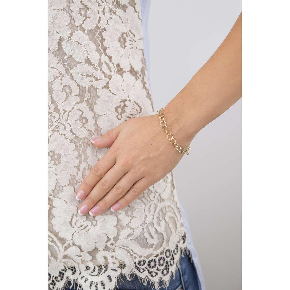 Marlù bracciali Nel mio Cuore donna 15BR014G indosso