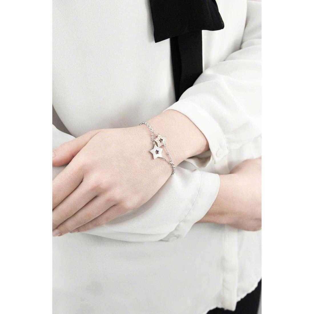 Morellato bracciali Abbraccio donna SABG08 indosso