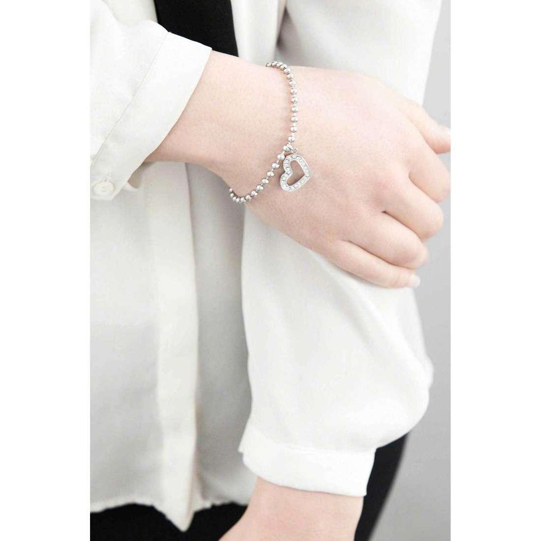 Morellato bracciali Abbraccio donna SABG12 indosso