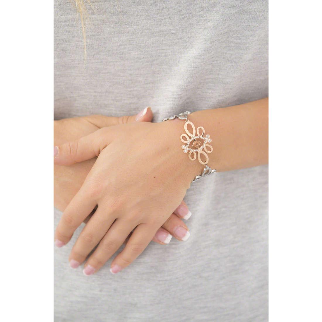 Morellato bracciali Arabesco donna SAAJ23 indosso