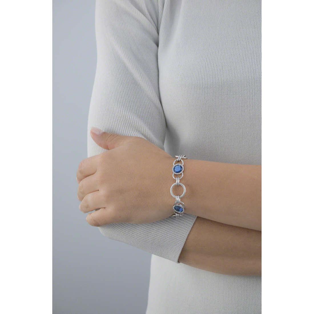 Morellato bracciali Essenza donna SAGX09 indosso