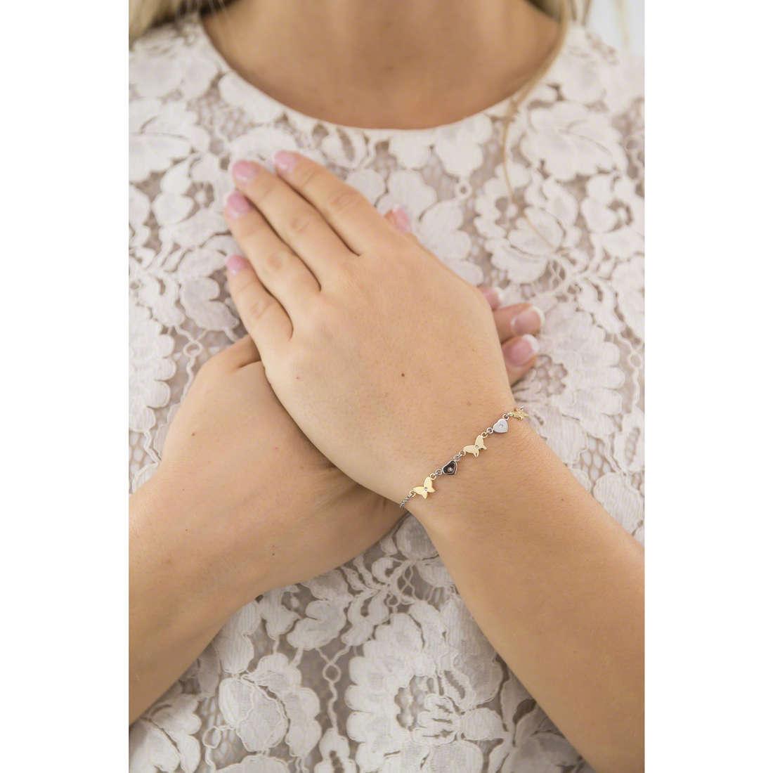 Morellato bracciali Insieme donna SAHM09 indosso