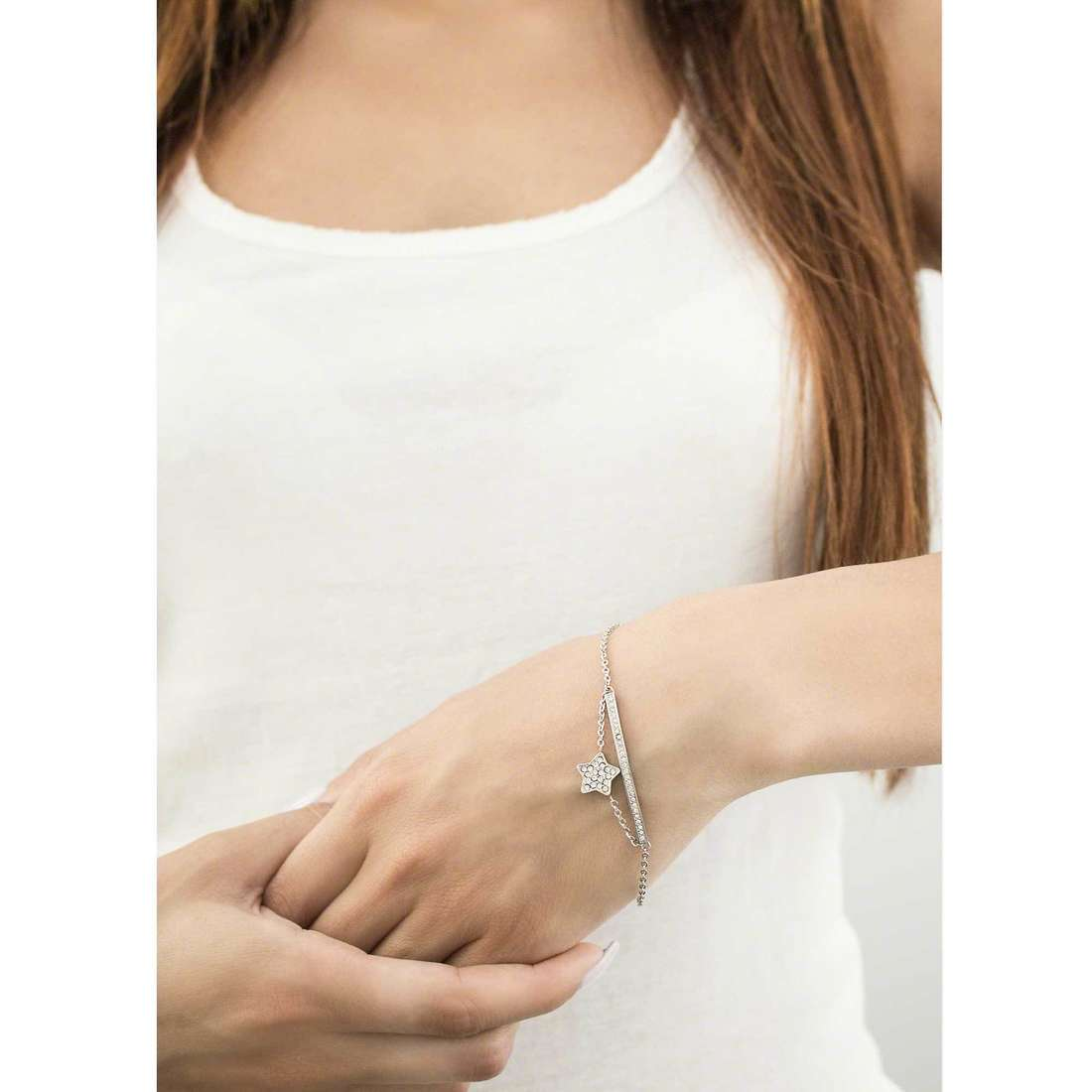 Morellato bracciali Mini donna SAGG07 indosso