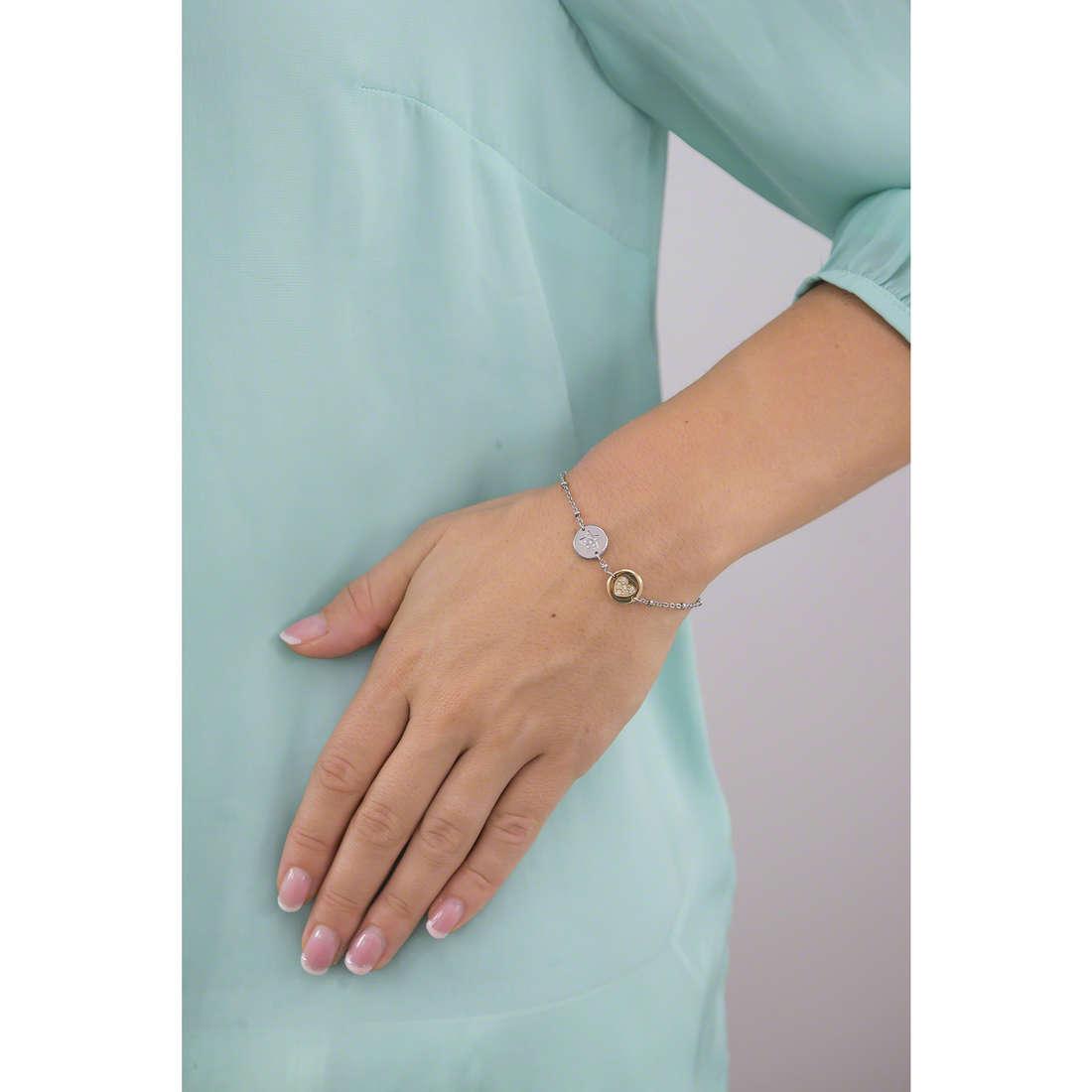 Morellato bracciali Monetine donna SAHQ07 indosso