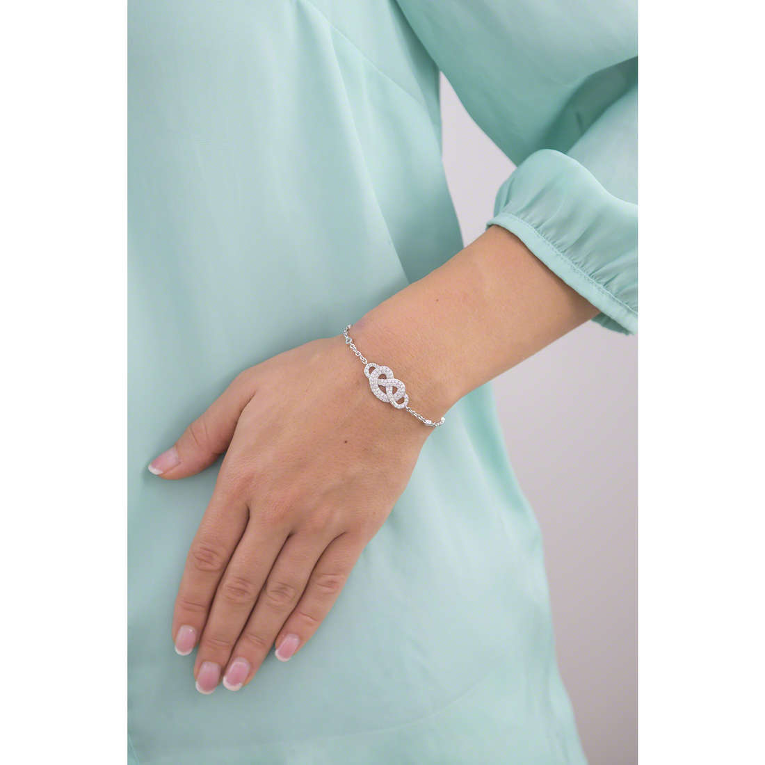Morellato bracciali Nododamore donna SAHN04 indosso