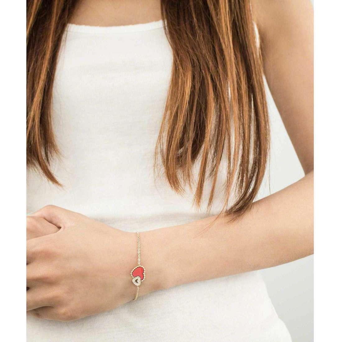Morellato bracciali Sempreinsieme donna SAGF08 indosso