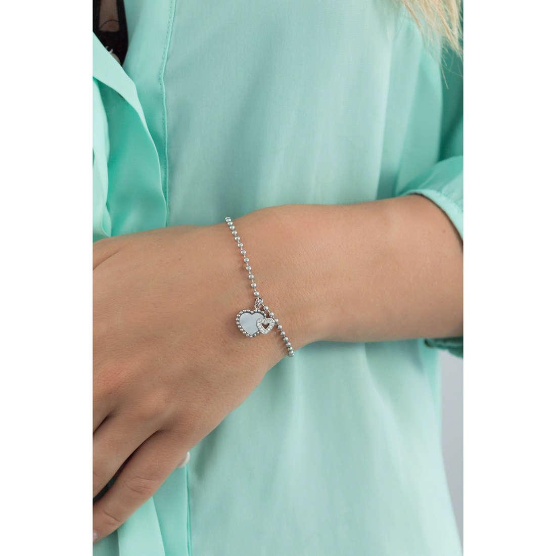 Morellato bracciali Sempreinsieme donna SAGF09 indosso