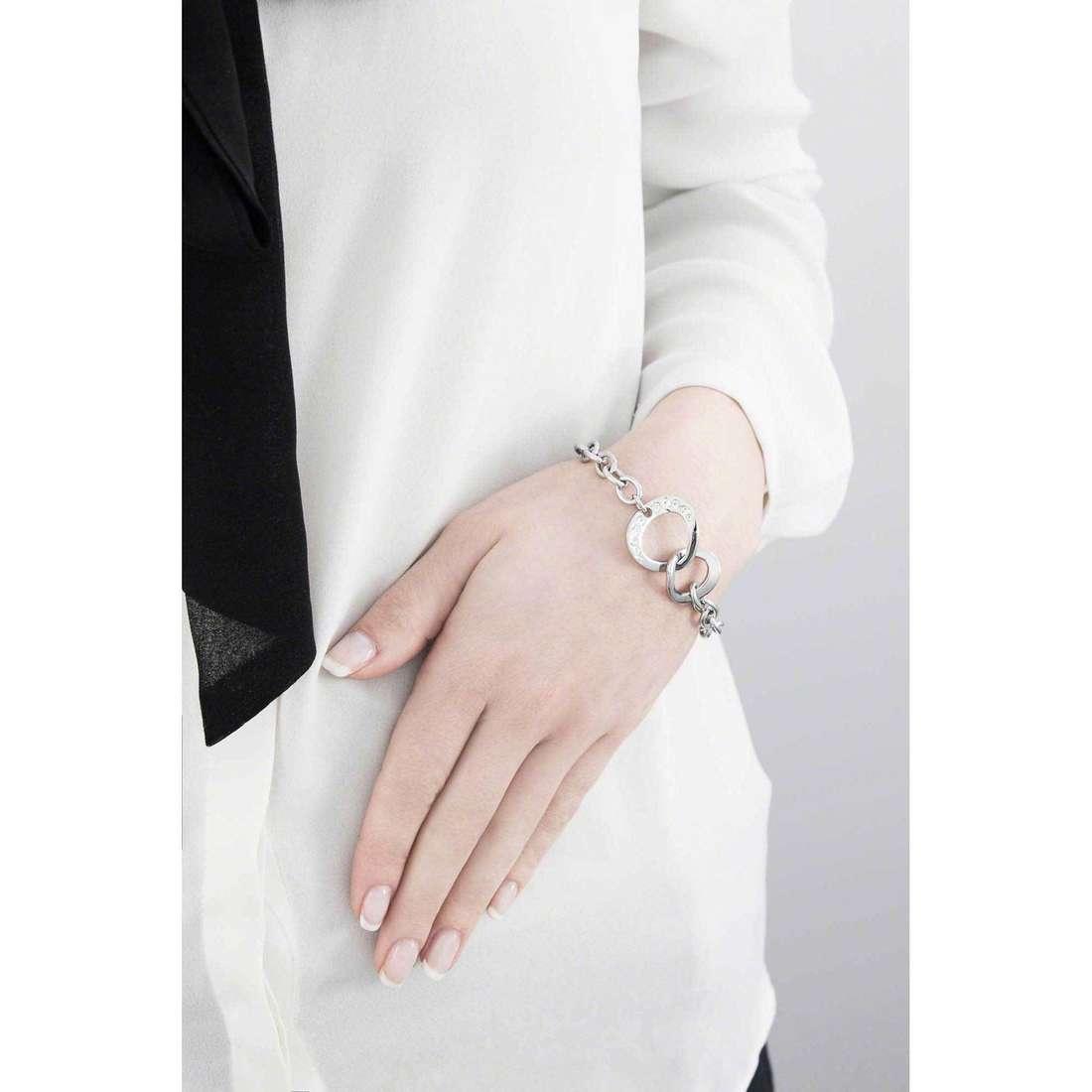 Morellato bracciali Senza fine donna SKT03 indosso