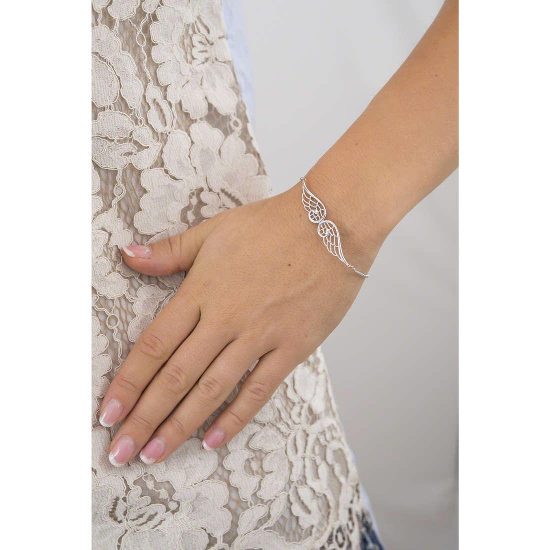 Nomination bracciali Angel donna 145301/010 indosso