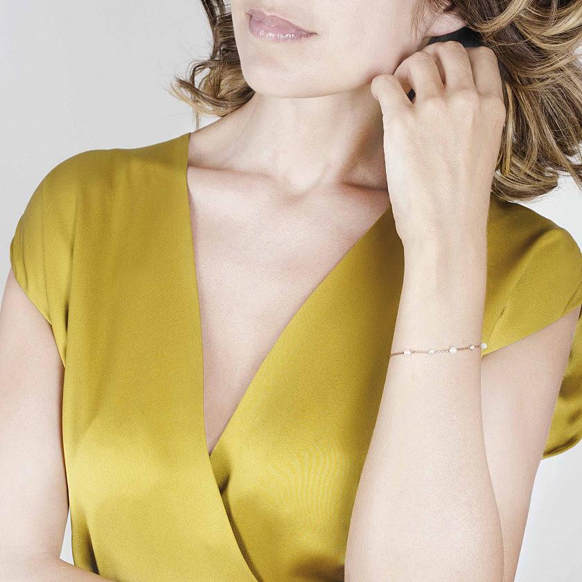 Nomination bracciali Bella donna 142654/010 indosso