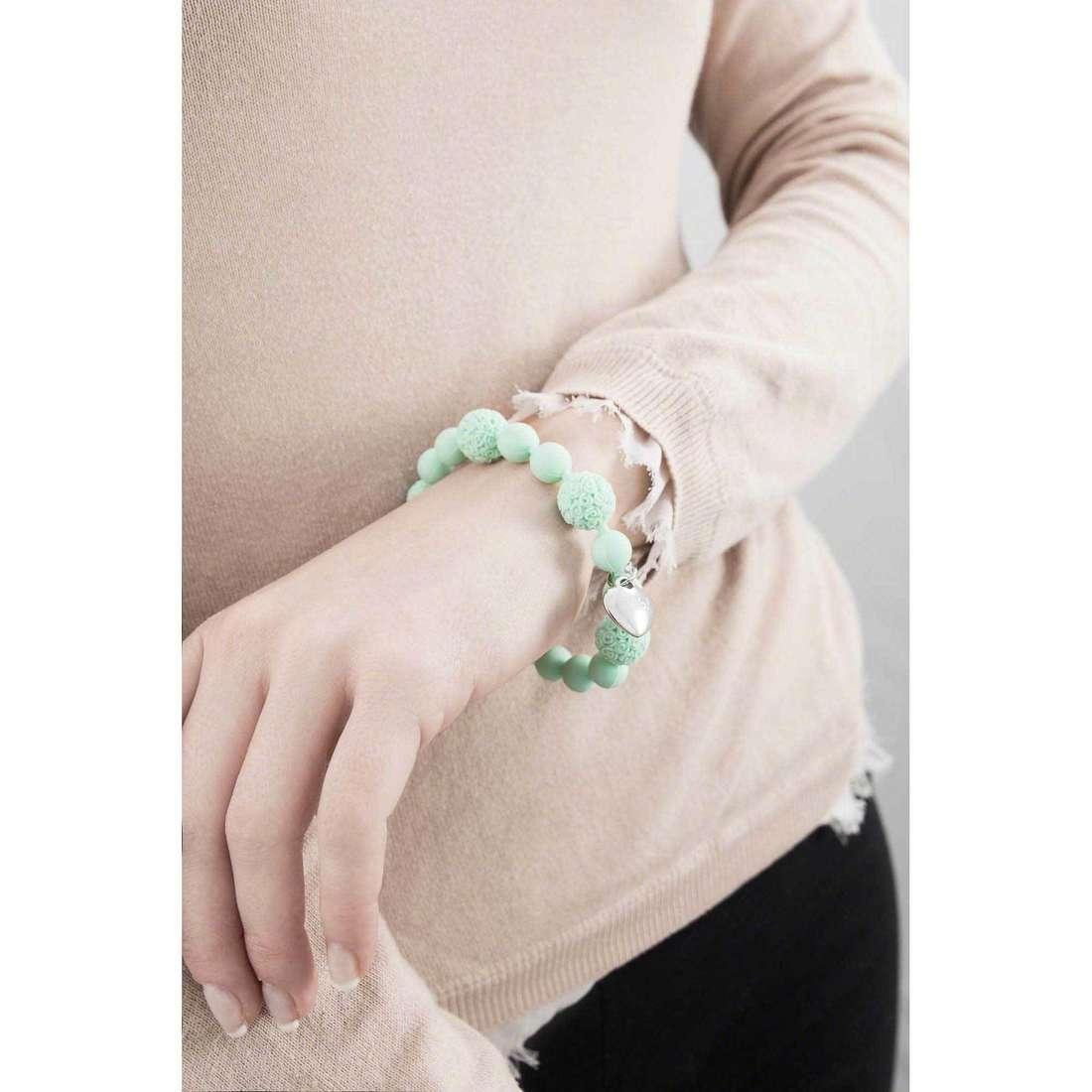 Ops Objects bracciali Boule De Rose donna OPSBR-249 indosso