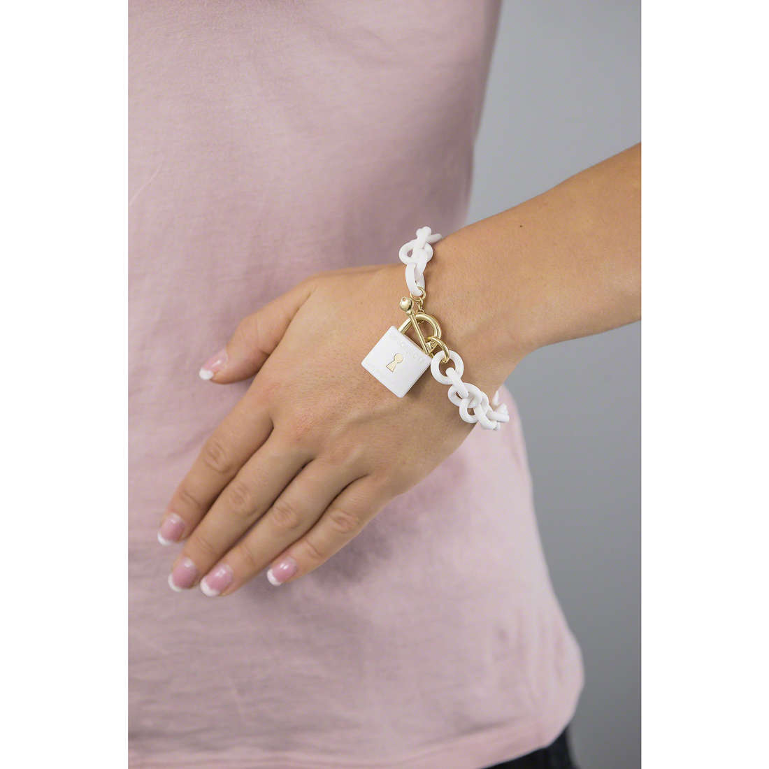 Ops Objects bracciali ops!Lock donna OPSBR-280 indosso