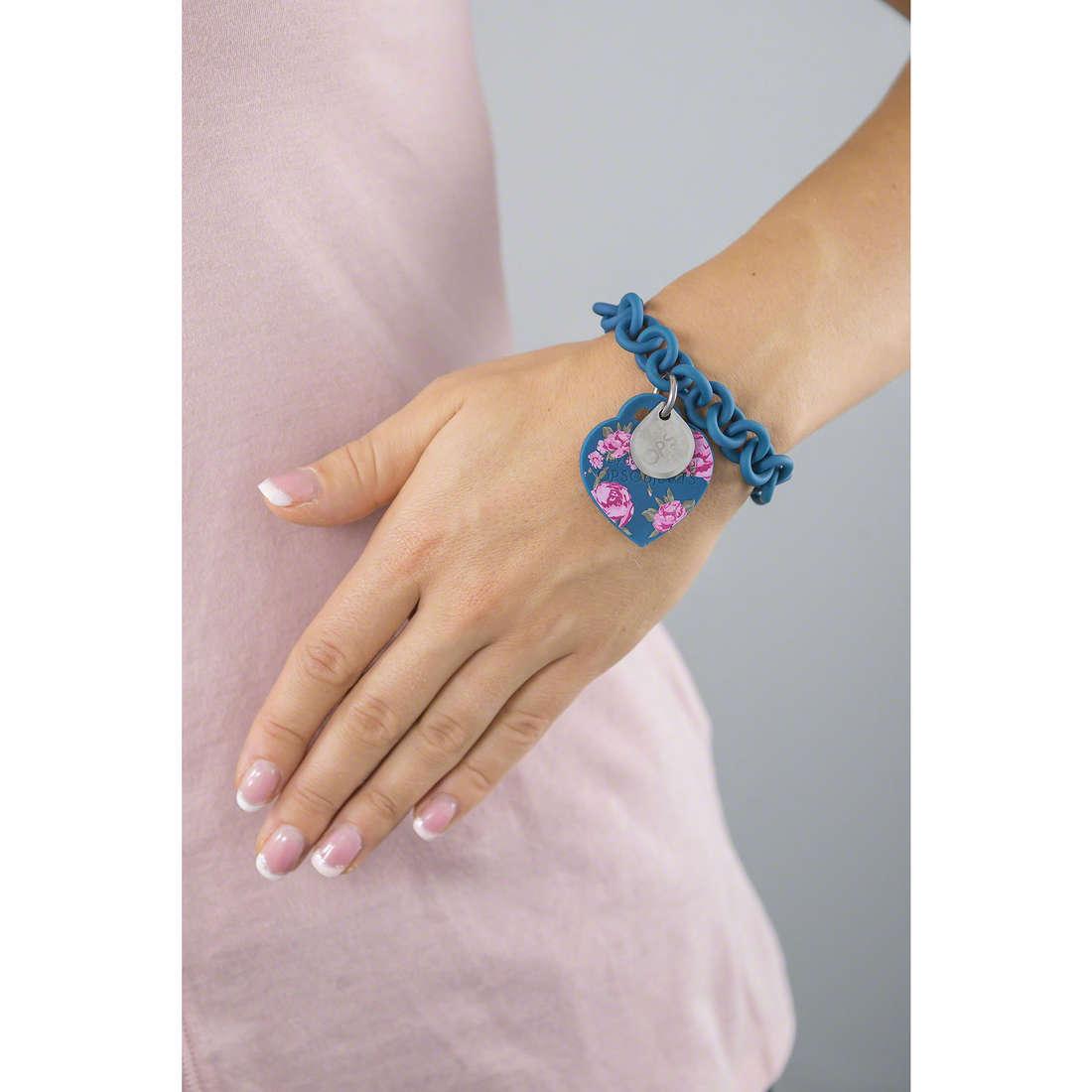 Ops Objects bracciali Flower donna OPSBR-156 indosso