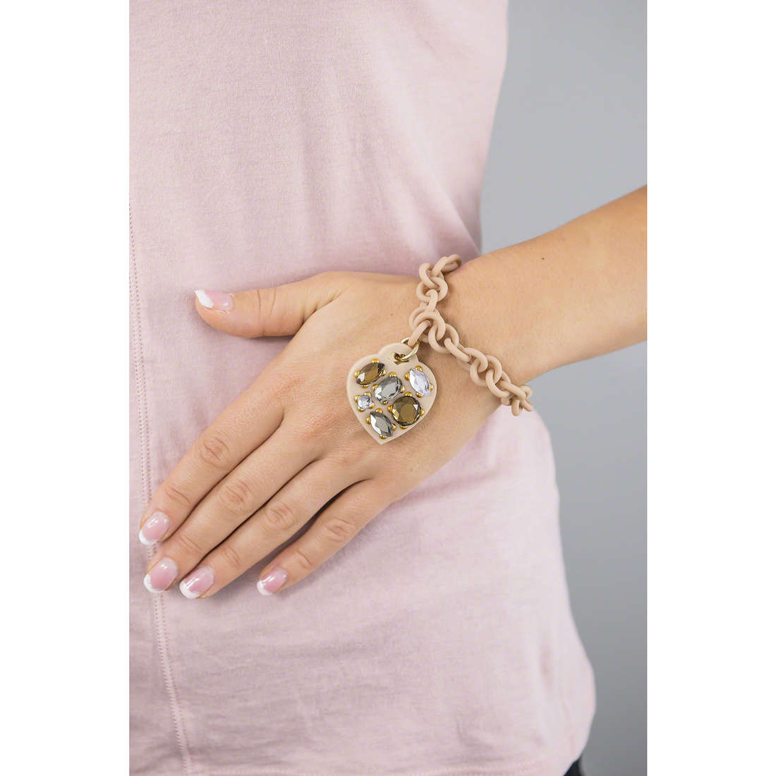 Ops Objects bracciali Ops! Stone donna OPSBR-172 indosso