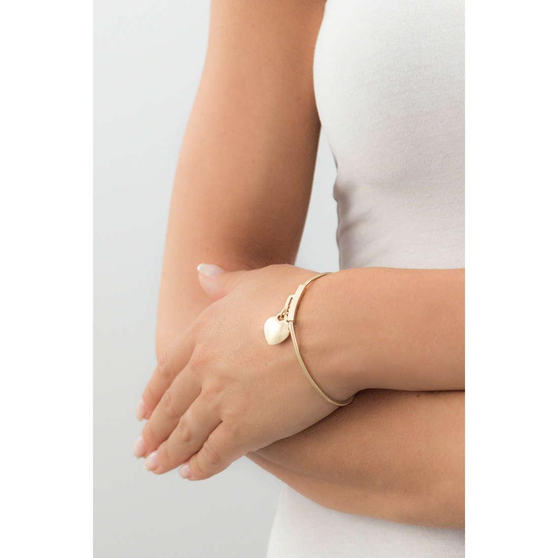 Ops Objects bracciali Snake donna OPSBR-366 indosso