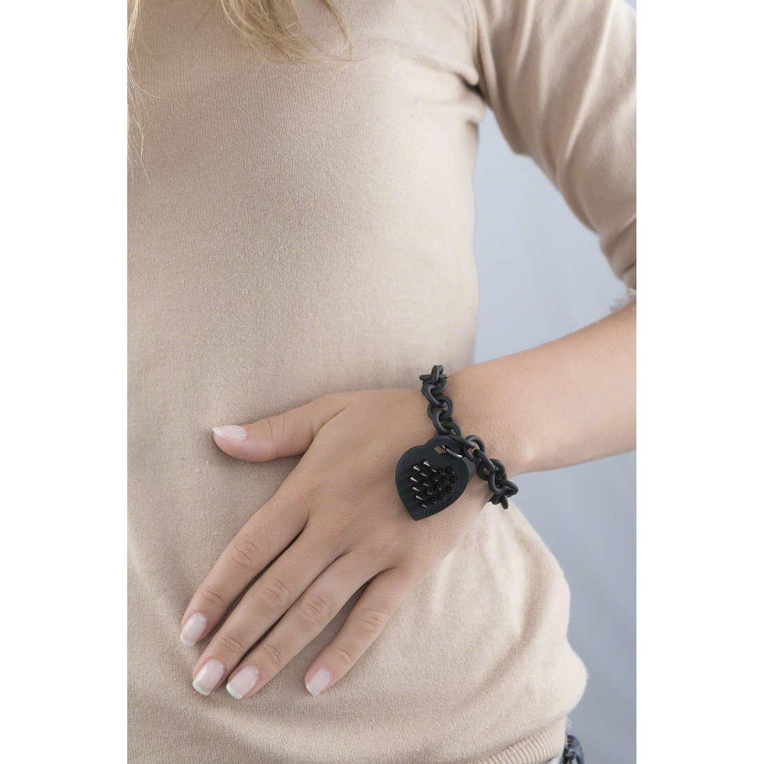 Ops Objects bracciali Stud donna OPSBR-70 indosso