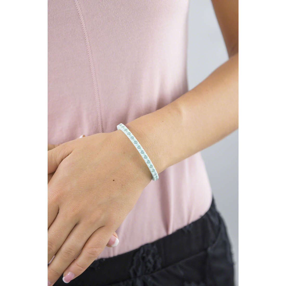 Ops Objects bracciali Tennis donna OPSTEW-11 indosso