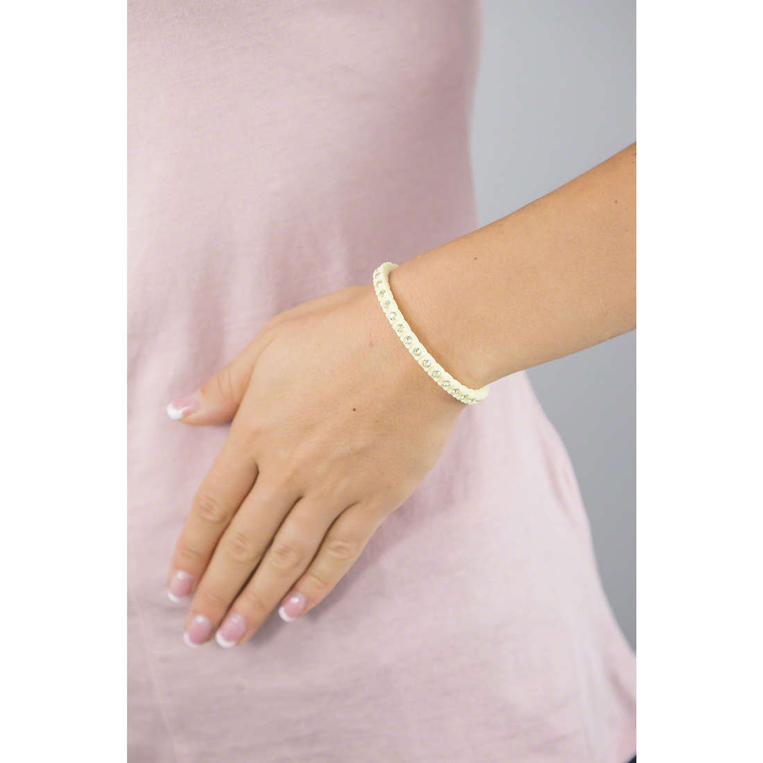 Ops Objects bracciali Tennis donna OPSTEW-12 indosso