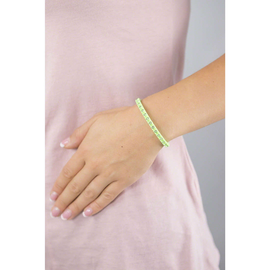 Ops Objects bracciali Tennis donna OPSTEW-13 indosso