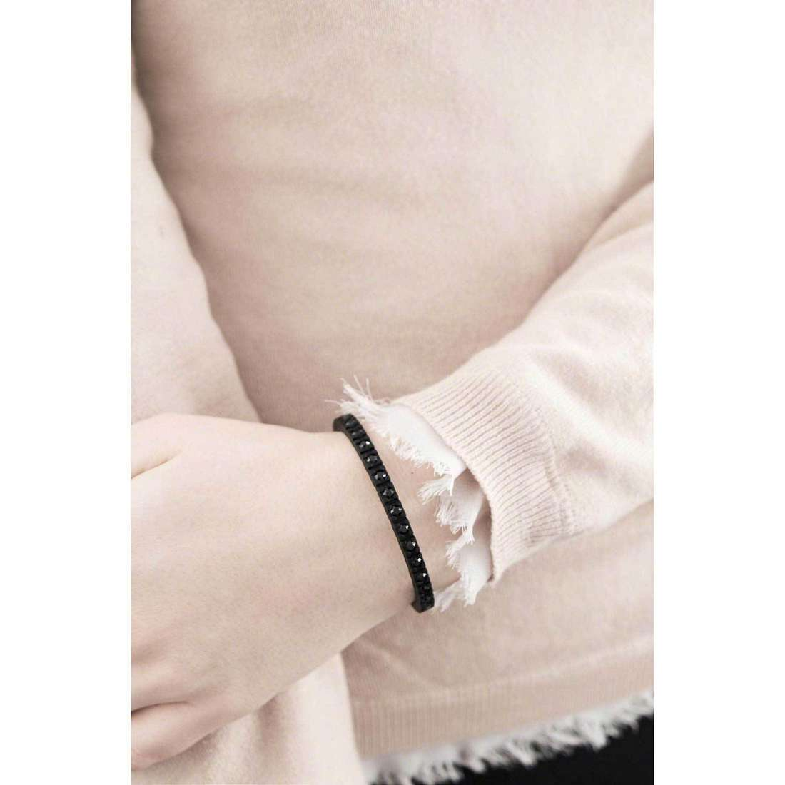 Ops Objects bracciali Tennis donna OPSTEW-16 indosso