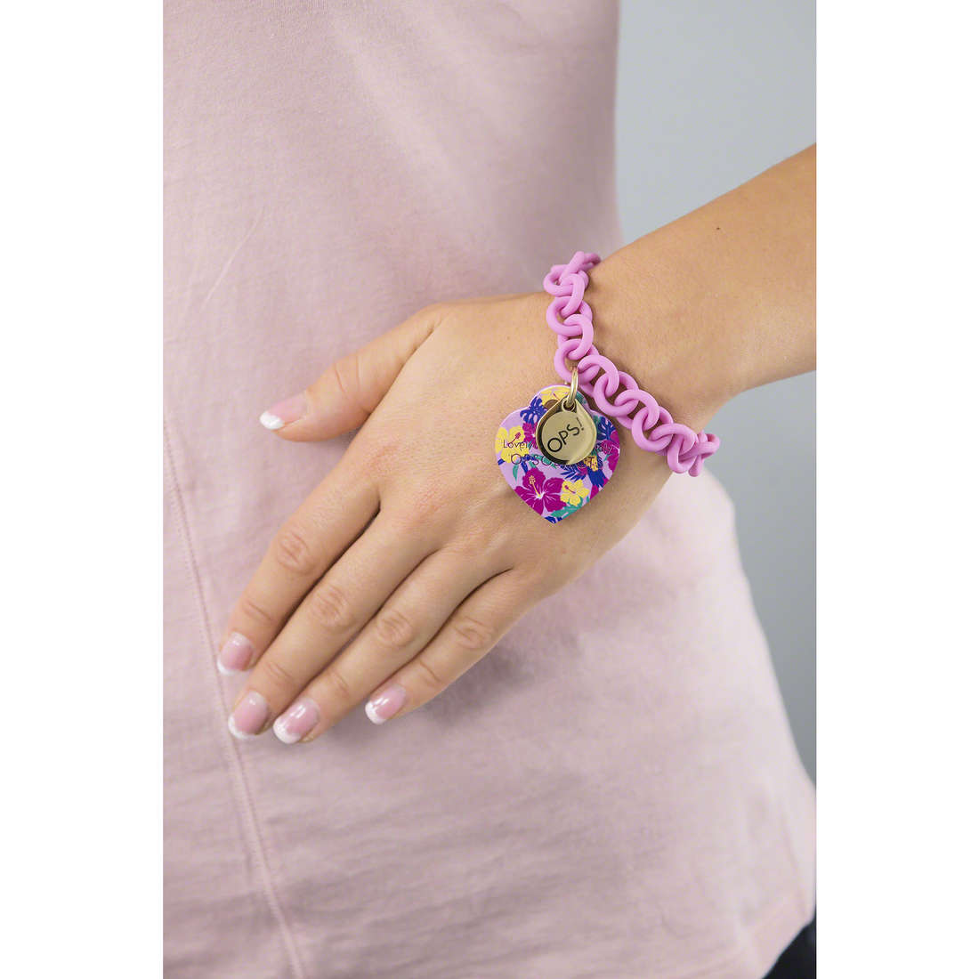Ops Objects bracciali Tropical donna OPSBR-212 indosso