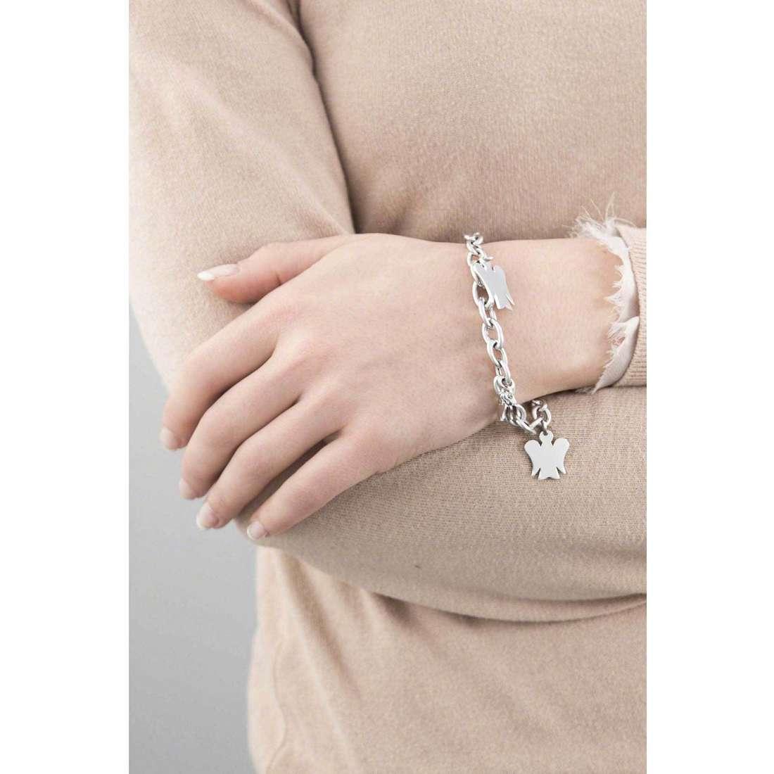 Giannotti bracciali Chiama Angeli donna GIA123 indosso