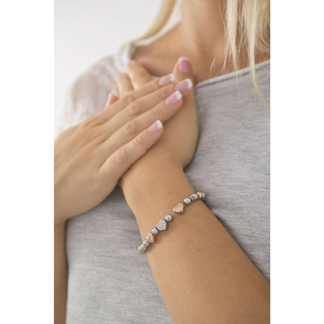 Sagapò bracciali Bonjour donna SAGAPOSBJ13 indosso