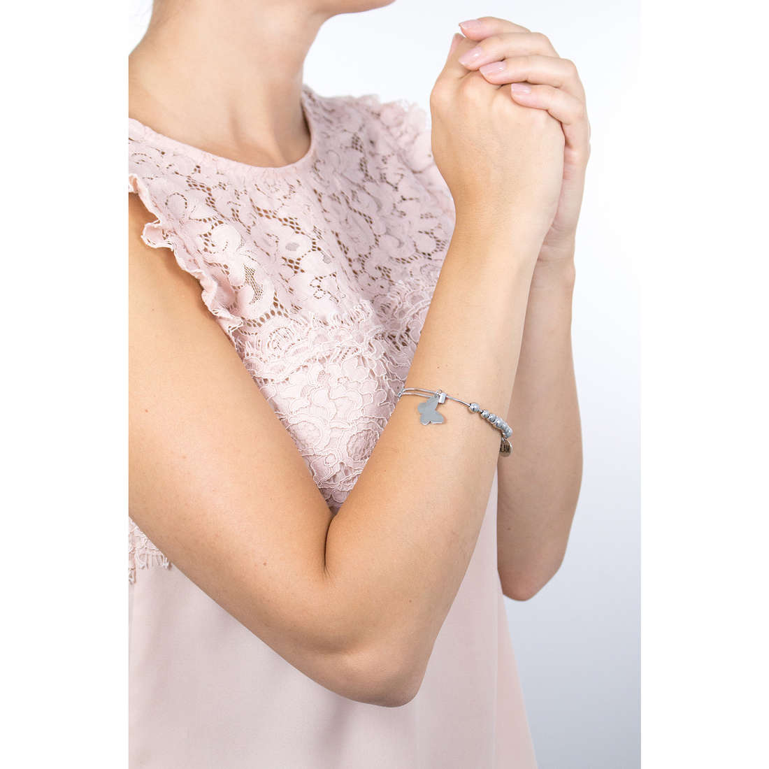 Sagapò bracciali Butterfly donna SHAD09 indosso
