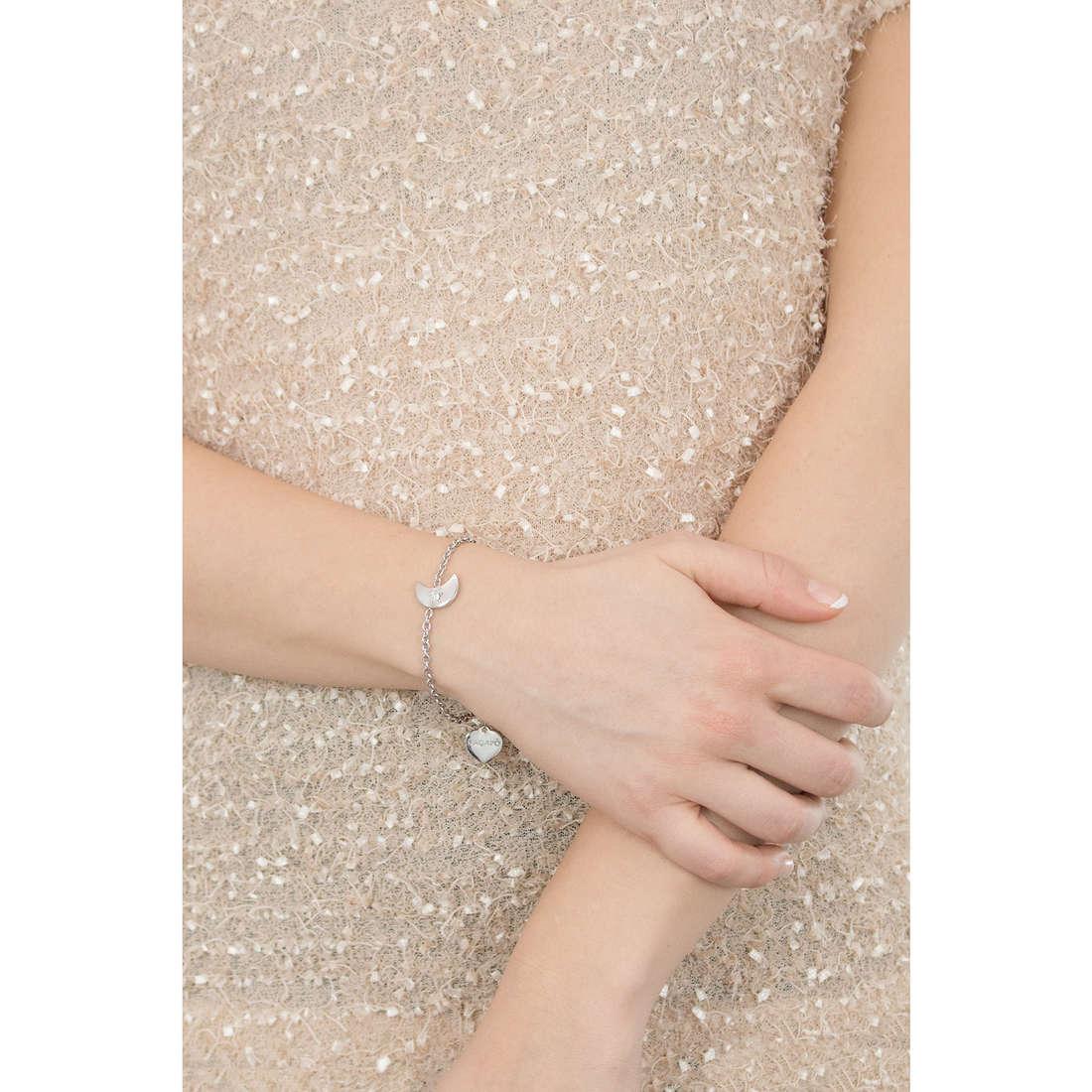 Sagapò bracciali Estrella donna SRE12 indosso