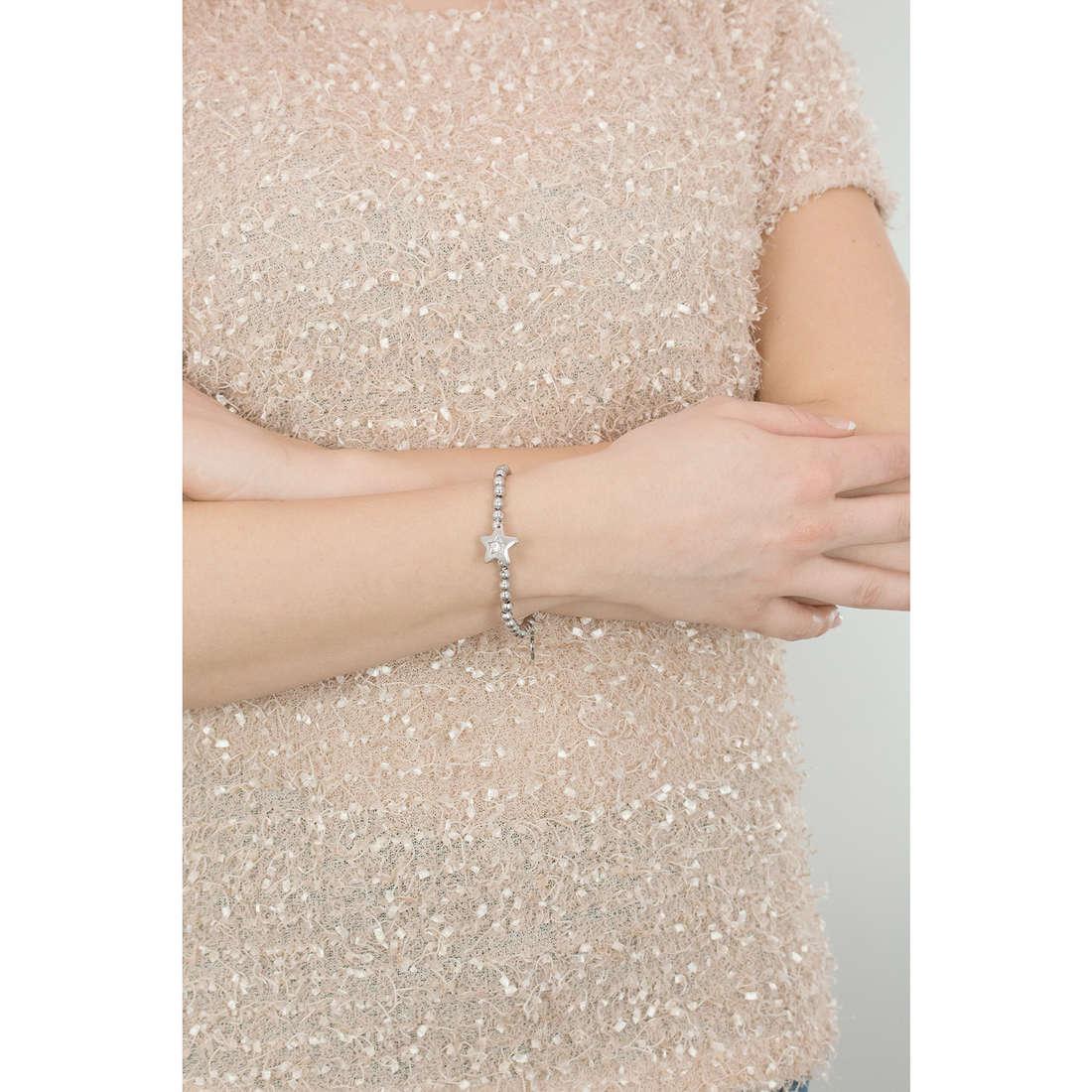 Sagapò bracciali Estrella donna SRE13 indosso