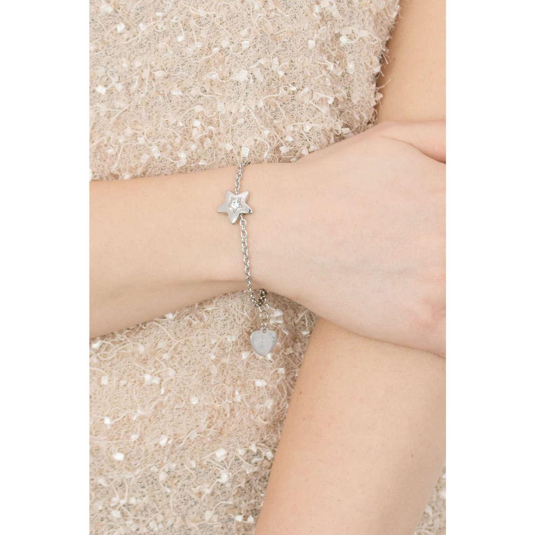 Sagapò bracciali Estrella donna SRE14 indosso