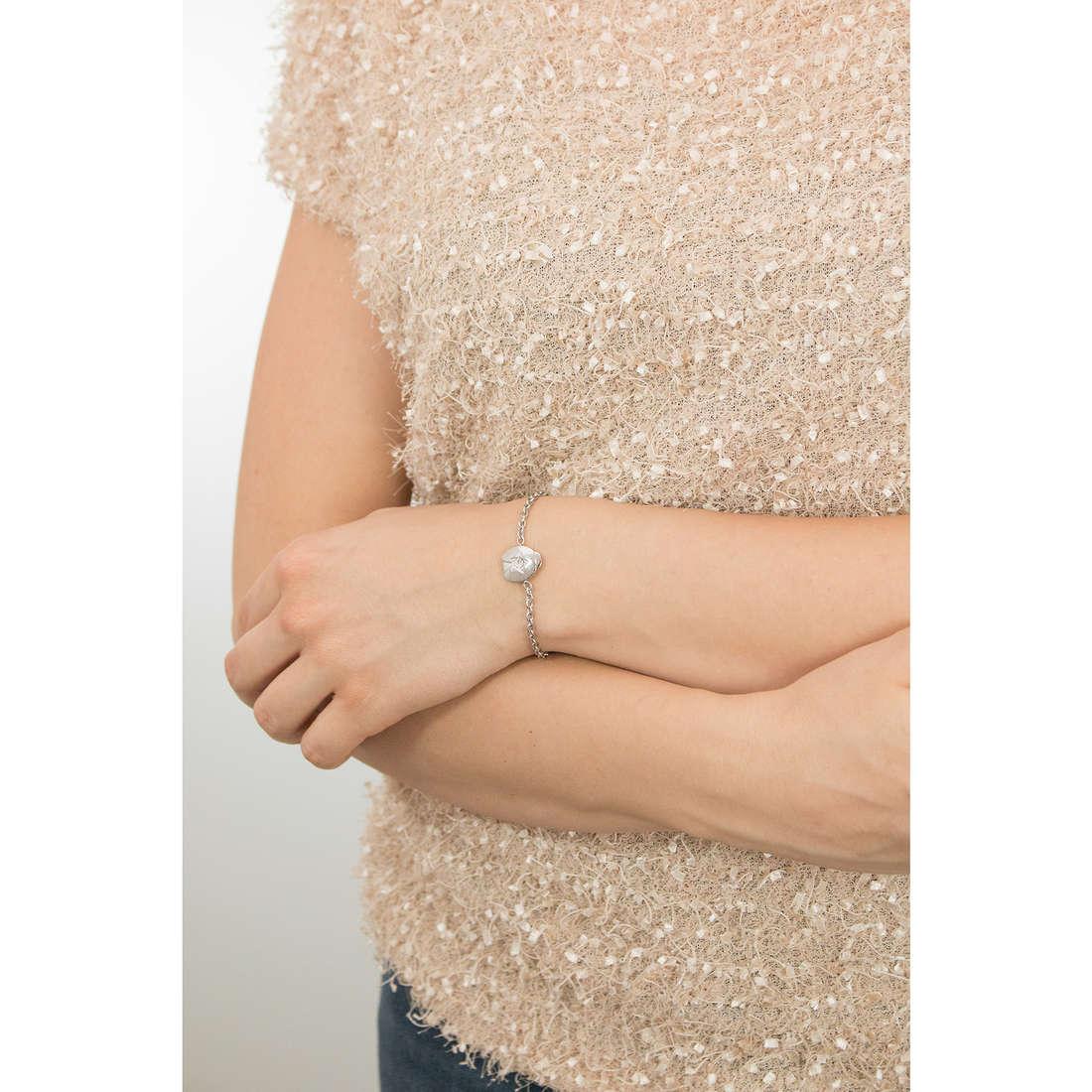 Sagapò bracciali Estrella donna SRE16 indosso