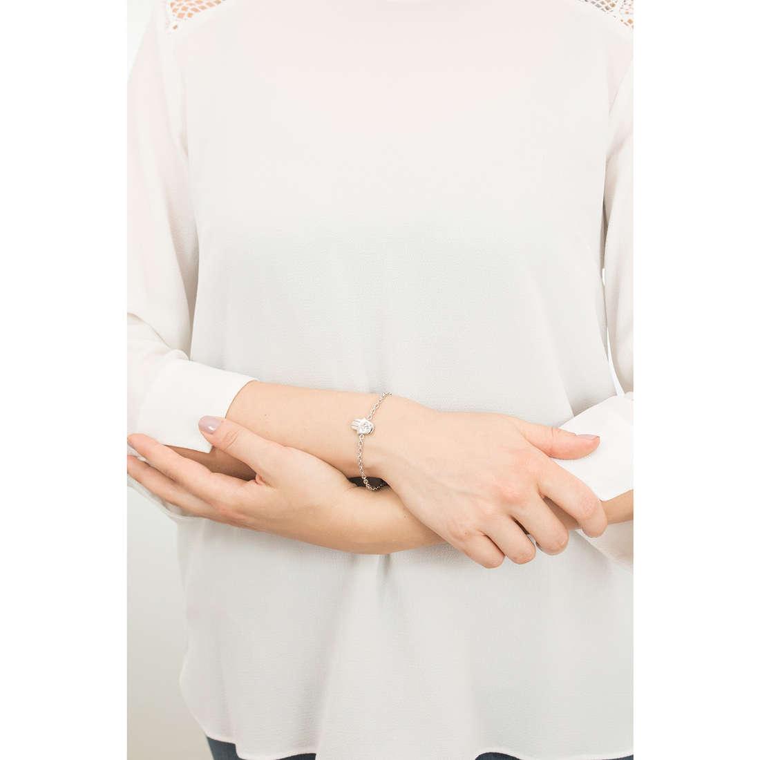 Sagapò bracciali Estrella donna SRE22 indosso