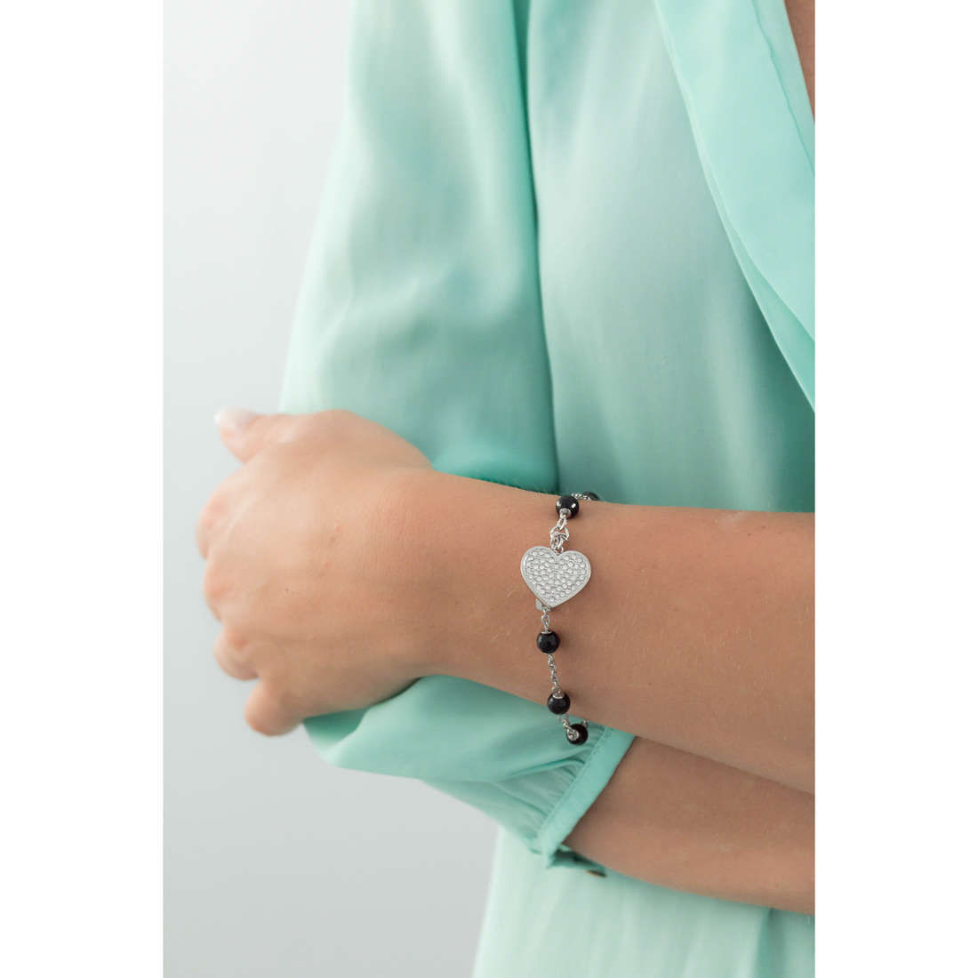 Sagapò bracciali Faith donna SFH11 indosso