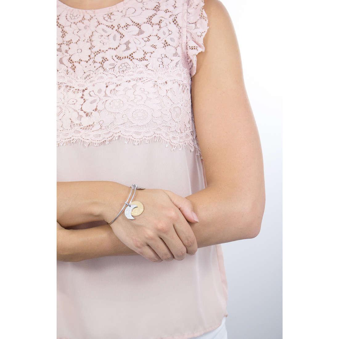 Sagapò bracciali Fortune donna SFO11 indosso