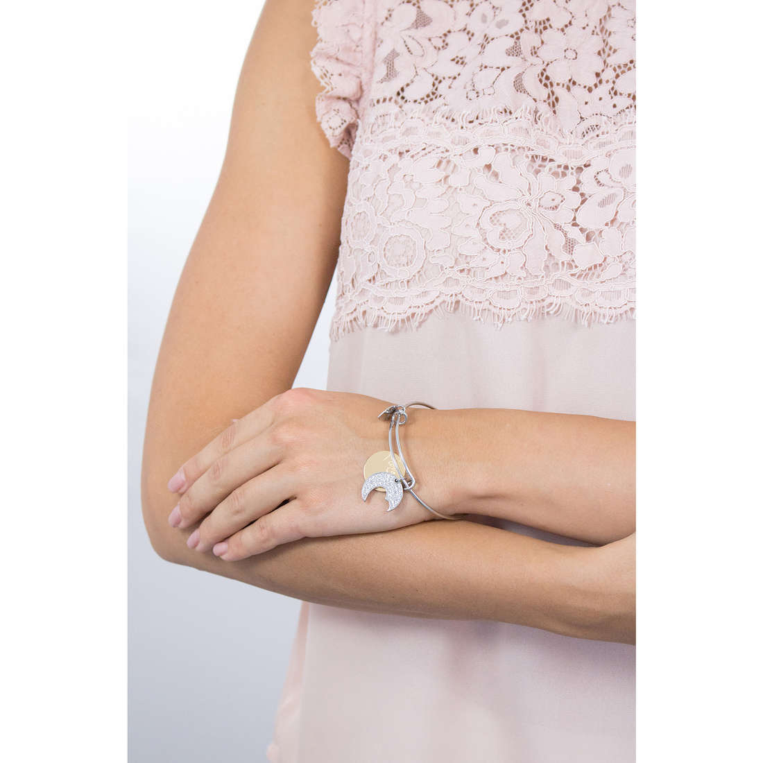 Sagapò bracciali Fortune donna SFO14 indosso