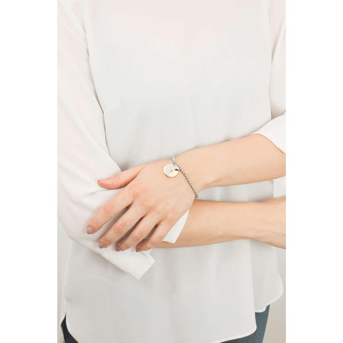 Sagapò bracciali Fortune donna SFO15 indosso