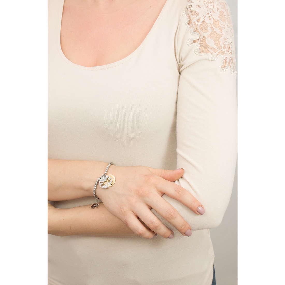 Sagapò bracciali Fortune donna SFO16 indosso