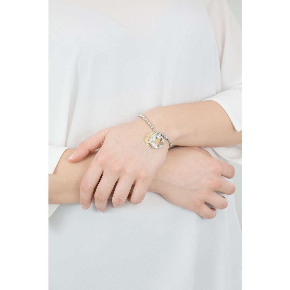 Sagapò bracciali Fortune donna SFO17 indosso